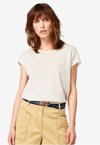 ESPRIT brown Short Sleeve T-Shirt 07750AAAC73210GS_1