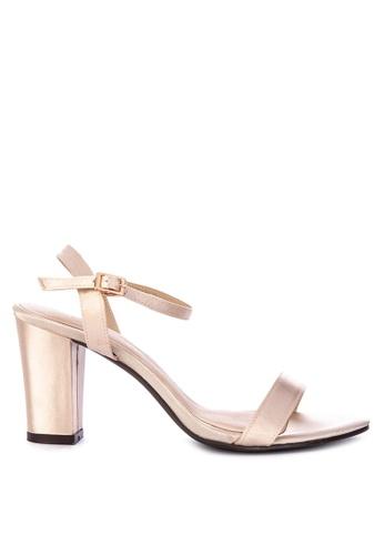 9d20f96742dd Shop CLN Ankle Strap Block Heel Sandals High Heels Online on ZALORA  Philippines