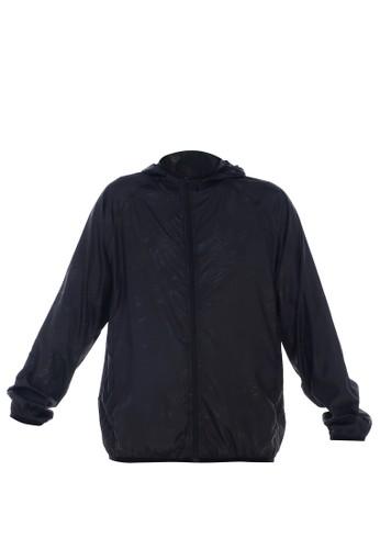 Hamlin black Hamlin Jems Jaket Olahraga Pria & Wanita Quick-dry Windbreaker Waterproof Size XL Material Parasut ORIGINAL ABF83AAD051985GS_1
