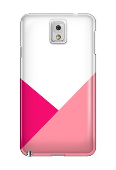 Triangular All Glossy Hard Case for Samsung Galaxy Note 3
