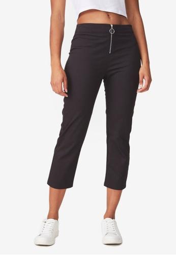 Cotton On black Gemma Capri Pants 10299AA3C8C541GS_1