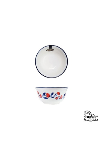 Table Matters multi Holiday Berry - Hand Painted 4.5 inch Rice Bowl 43931HL926D353GS_1