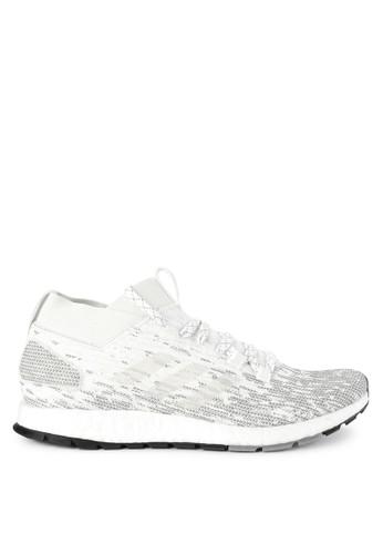 best website 07612 b60e5 adidas white and grey adidas pureboost rbl A69BASH741AC8BGS 1