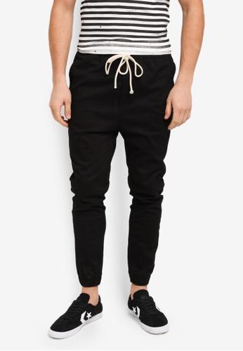 Flesh IMP 黑色 Yager Side Pocket Jogger Pants 0A4ACAA892D7F4GS_1
