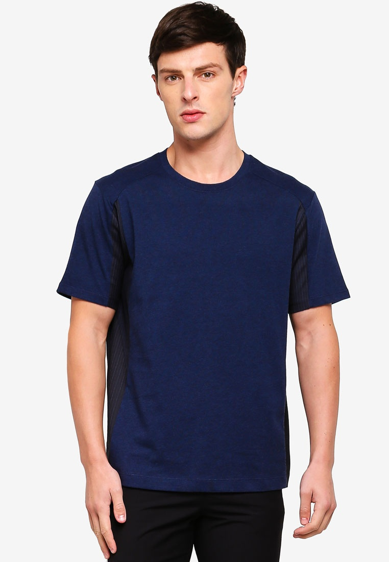 Dark Crew Tee Block Colour Navy G2000 xfwqI1n5