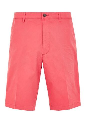 MARKS & SPENCER pink M&S Super Lightweight Chino Shorts C43C5AAEEC7DE5GS_1
