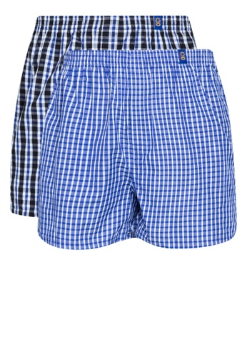 Sunjoy multi Checkered Boxer Shorts (Bundle Of 2) AE3A7US96F3B08GS_1