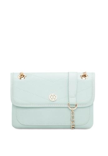VINCCI green Shoulder Bag CFE23AC55CEC4BGS_1