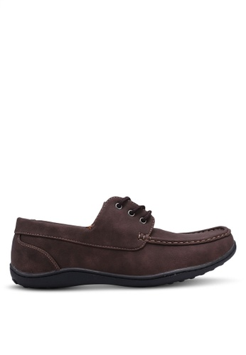 Rocklander brown Casual Boat Shoes 81163SH3A0DE14GS_1