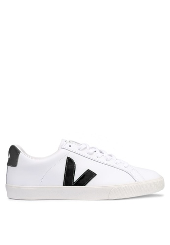 Veja white Esplar Leather Sneakers 65C9BSH314B1F0GS_1