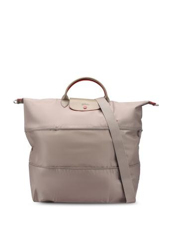 Longchamp brown Le Pliage Club Travel Bag (zt) A2976AC762307EGS_1