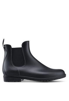 676764e5c7f5 Twenty Eight Shoes black Riding Rain Boots B5E99SH1182E83GS 1
