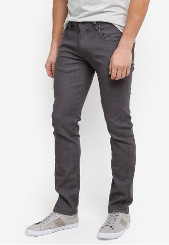 threads by the produce 灰色 Slim Straight Jeans 40FA9AA02F6B4CGS_1