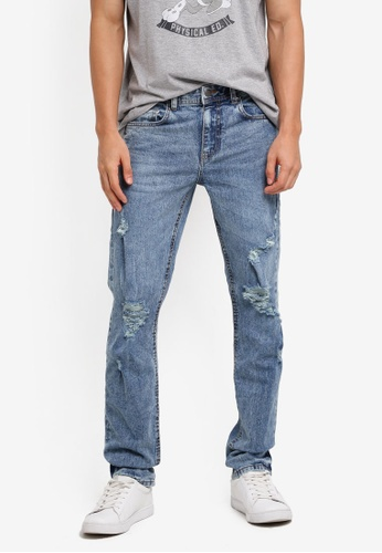 Cotton On blue Slim Fit Jeans 84E9DAA71B0EBAGS_1