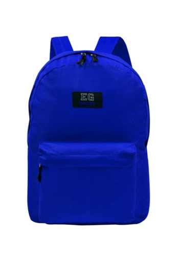 Dooka blue Marion Nylon School Backpack DO079AC71EVGPH_1