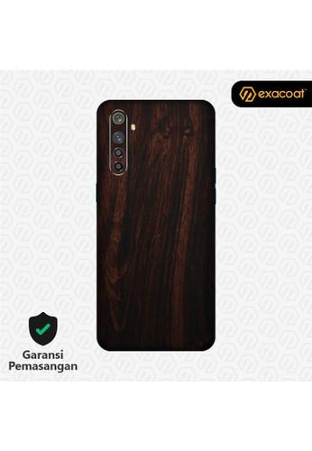 Exacoat Realme XT 3M Skins Wood Series - Wood Mahogany 68826ES97FCAA7GS_1