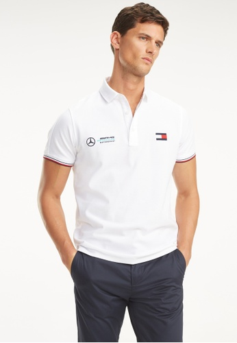 4de7d211eb7ff Shop Tommy Hilfiger Mercedes Benz Logo Polo Shirt Online on ZALORA  Philippines