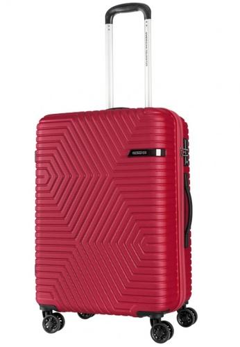 American Tourister red American Tourister Ellen Spinner 68/25 TSA D50CCAC8090A24GS_1