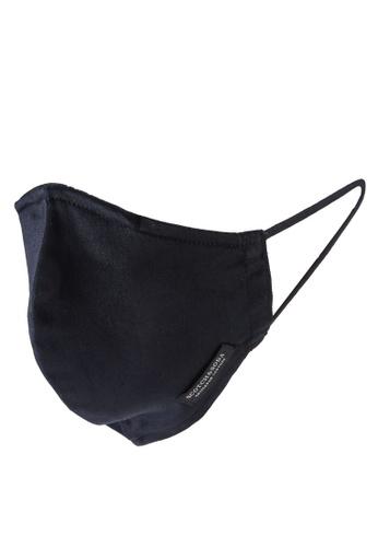 SCOTCH & SODA black Facemask Men With Nano-Filter - Organic Cotton D5E9EESCF487FAGS_1