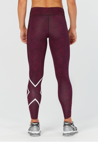 5f61b6fd28 Buy 2XU 2XU Mid-Rise Print Compression Tights | ZALORA HK