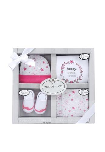 Milliot & Co. pink Asher Girls Gift Set C66A5KCF41C795GS_1