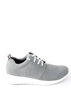 harga NESH Light Grey Boost Sneaker Zalora.co.id