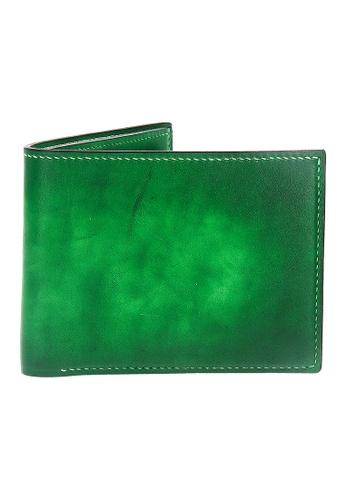 Jonathan Abel green Jonathan Abel Isaiah Wallet - Green Patina 80292ACDA8851CGS_1