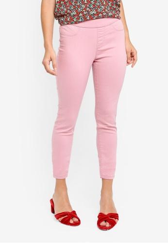 34d5608fc43f8 Dorothy Perkins pink Pink Eden - Ultra Soft Jegging 3507AAA0207070GS_1