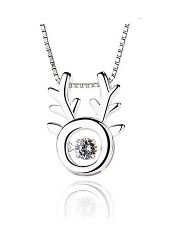 LYCKA silver LPP88033 S925 Silver Necklace 504B4AC51E1DE1GS_1