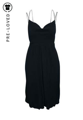 Reformation black Pre-Loved reformation Bare Back Elegant Midi Black Dress 94900AA3067B10GS_1