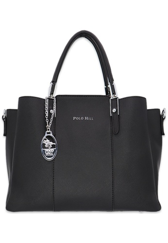 Polo Hill black Polo Hill Larenn Tote Bag BE87BAC88B7C74GS_1