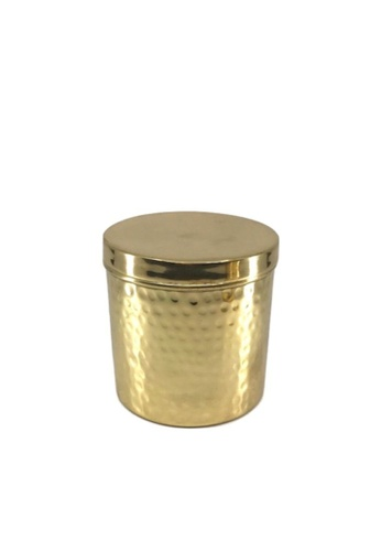 Stylodeco Storage Box, Hammered Brass, L 58403HLEAAC447GS_1