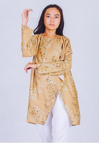 CUIT brown Baju Hamil Menyusui MINORI TUNIK BLOUSE - KHAKY CA608AAADA7826GS_1