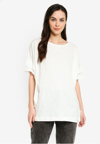 niko and ... white Batwing Sleeve Top F636DAAE6387FAGS_1