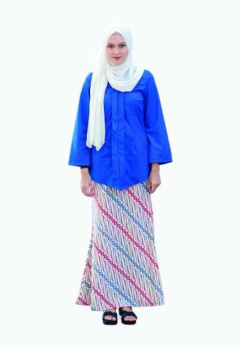 Kebaya Lana from Kamelia in Blue