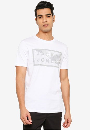 Jack & Jones white Crew Neck Tee 4C954AA8BB6E5EGS_1