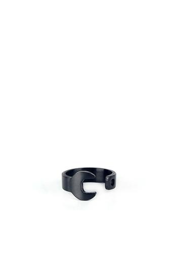 HAPPY FRIDAYS Titanium Steel Spanner Ring DW0060 9BAF5AC6B13F6FGS_1