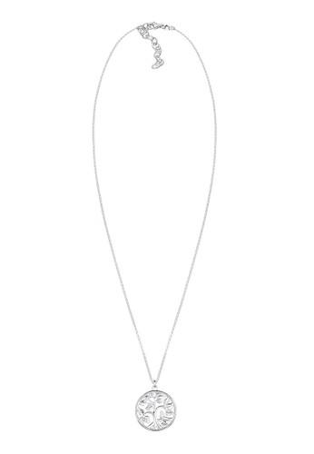 925 純銀生命樹esprit 折扣鏤空牌飾項鍊, 飾品配件, 項鍊