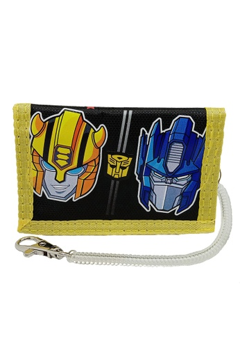 Transformers black and yellow Transformers TFEG Tri Fold Wallet D44F3KC2D105BDGS_1