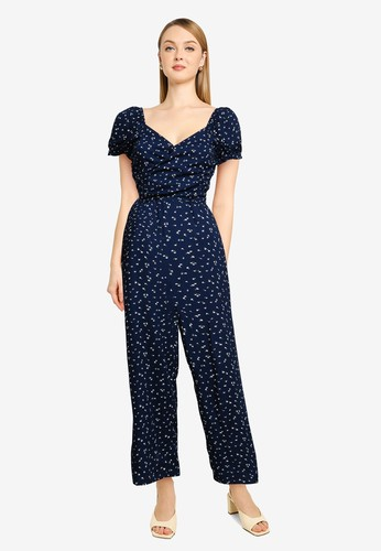 Hollister navy T158 Nb Jumpsuit 831EFAA0165A1AGS_1