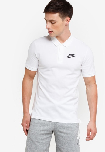 nike polo neck t shirt