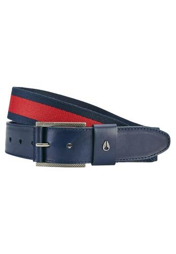 Nixon red and blue Nixon - Americana Stripe Belt Navy/Red NI855AC40EFZSG_1