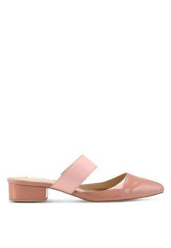 OCEEDEE 粉紅色 Annette 平底鞋 EA687SHCF52B16GS_1