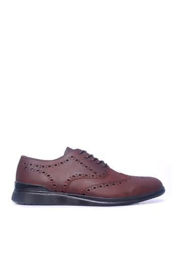 Toods Footwear brown Humblepaps Oxford Wintip - COKELAT VINTAGE 695A9SHCF45A15GS_1