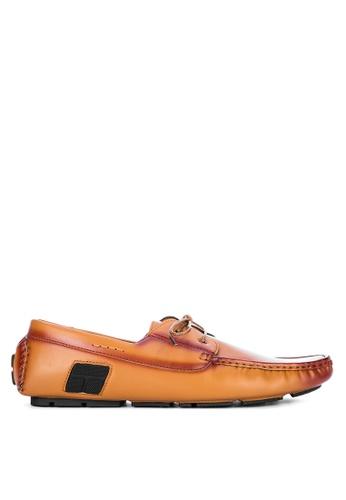 H2Ocean beige Shiloh Boat Shoes 115F7SHAB944B9GS_1