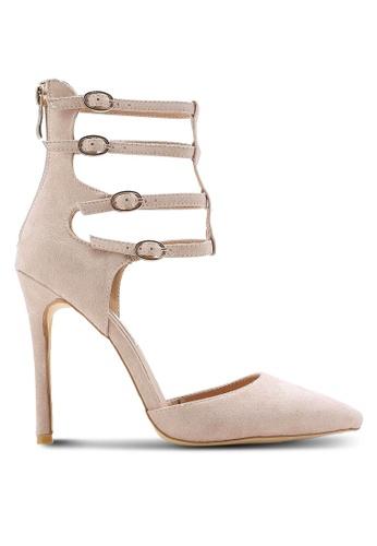 Billini pink Kara Heels BI606SH72RIHMY_1