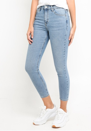 TOPSHOP 藍色 緊身牛仔褲 EF992AA4336671GS_1