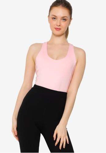 Lorna Jane pink Ellie Active Bodysuit 157D4AA03F052AGS_1