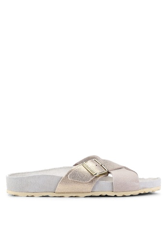 d2c1a6215941 Shop Birkenstock Siena Exquisite Suede Leather Sandals Online on ZALORA  Philippines