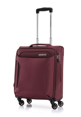 American Tourister red American Tourister Clayton Spinner 56/20 Exp TSA 23E69ACA27BFD9GS_1
